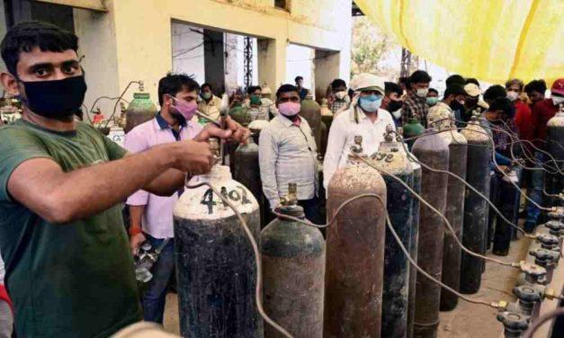 Operación Bendición provee oxígeno médico a los pacientes con Covid en la India en medio de la fuerte crisis